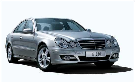 [新车]:国产奔驰E230豪华轿车 8月3日正式上市(图)