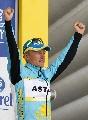 图文:环法第13赛段 哈萨克斯坦车手获赛段冠军