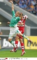 图文:[联赛杯]拜仁4-1不来梅 辛德勒高高跃起
