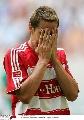 图文:[联赛杯]拜仁4-1不来梅 克洛泽怎么了