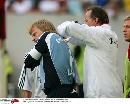 图文:[联赛杯]拜仁4-1不来梅 卡恩怎么了