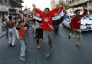 图文;[亚洲杯]伊拉克2-0越南 街头狂奔