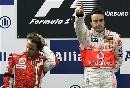 图文:[F1]阿隆索获欧洲站冠军 马萨有些郁闷