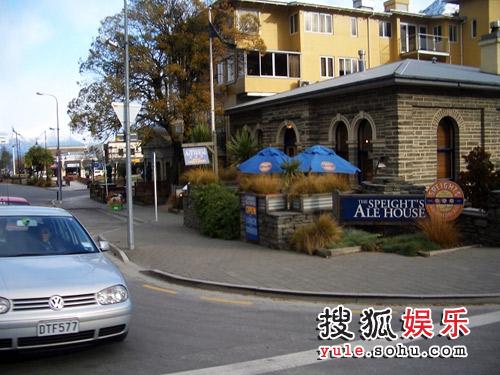 图:赵薇新西兰日记-Queenstown街头