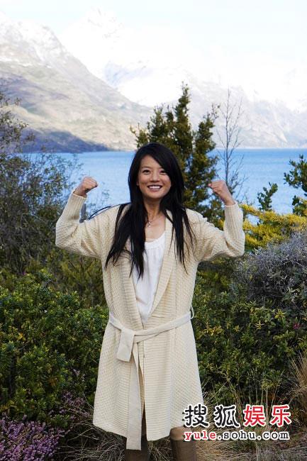 图:赵薇新西兰日记-零下八度我不怕冷