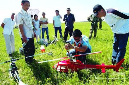 黑龙江省航空航天模型实践锦标赛举行(图)