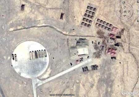 汉斯·克里斯腾森称这就是德令哈地区的某个导弹发射阵地(来源:Google)