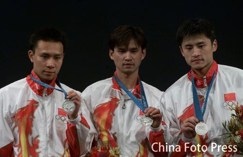 中国奥运50大经典时刻 男花三剑客悉尼一剑惜败