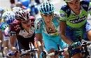 图文:环法自行车赛15赛段 西班牙人纳瓦罗(中)