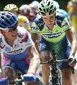 图文:环法自行车赛15赛段 你追我赶共赴前程
