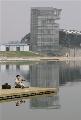 图片:顺义奥林匹克水上公园完工 皮划艇静水区