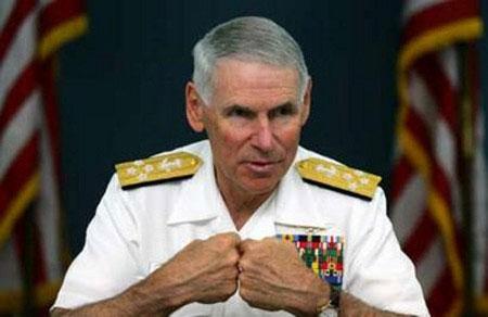 美军太平洋总司令批评陈水扁。