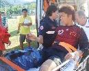 图文:[热身赛]国奥0-0莱切 曾诚重伤离场