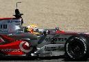 图文:[F1]赫雷斯赛道试车 汉密尔顿进行练习