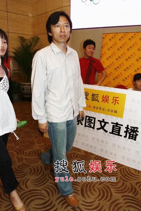 搜狐网站CEO张朝阳出席启动仪式-1