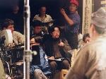 1992《暗恋桃花源》电影拍摄现场(中为赖声川,左侧镜头后为杜可风)