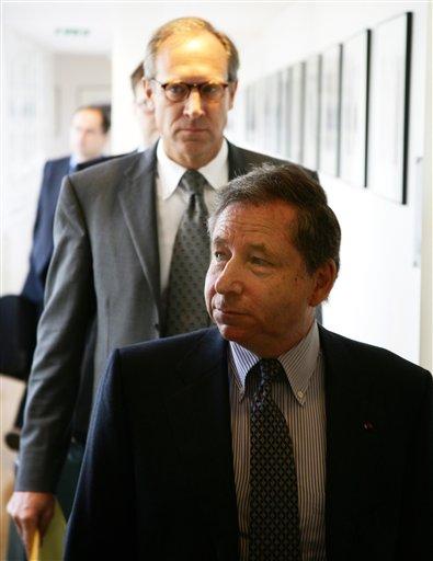 图文:[F1]间谍案听证会 托德走入会场