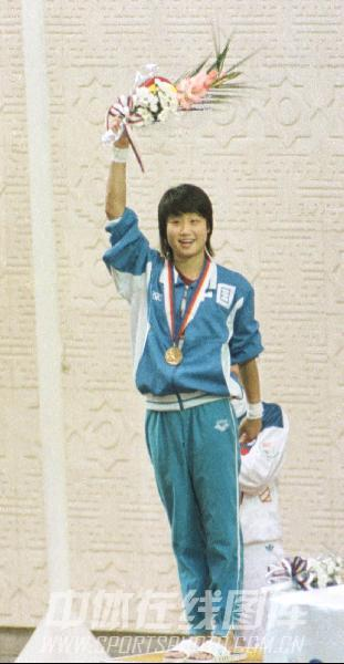 图文:1988年24届汉城奥运会 许艳梅夺跳水首金
