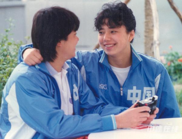 图文:1988年第24届汉城奥运会 庄泳与黄晓敏