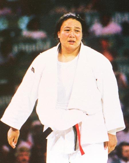 图文:1996年亚特兰大奥运会 孙福明夺金时刻一