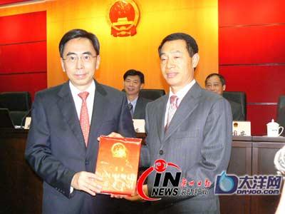 广州市人大常委会任命曹鉴燎为副市长