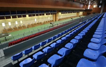 图文:北京射击馆正式交付 资格赛馆一层比赛厅