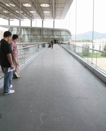 图文:北京射击馆正式交付 连接各场馆的