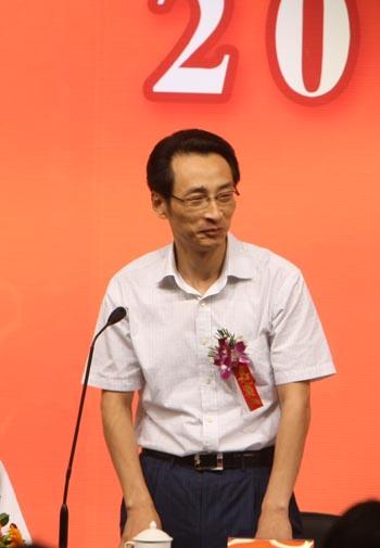 图文:北京射击馆验收交付仪式 陈刚宣布竣工