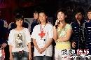 快男北京见面会—搜狐V频道主编与红十字会代表
