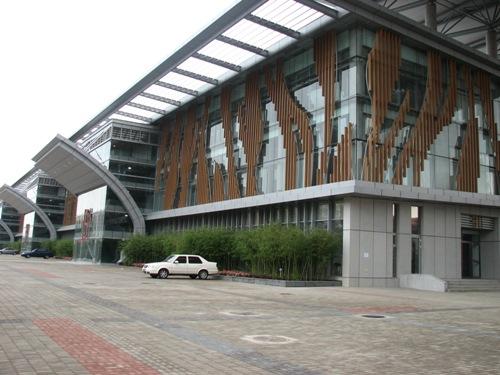 图文:北京射击馆正式验收交付 决赛馆左侧一角