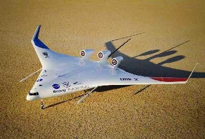 X-48B将成为下一代飞机的模板。