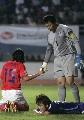图文:[亚洲杯]日本5-6(点)韩国 配合默契