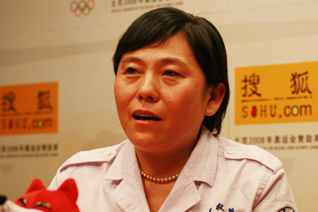 武培源女士畅谈08北京奥运