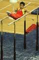 图文:体操世界杯上海站 冯�炊�作非常规范