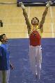 图文:体操世界杯上海站 肖钦开始单杠比赛