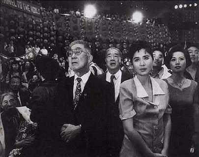荣高棠是新中国体育奠基人之一