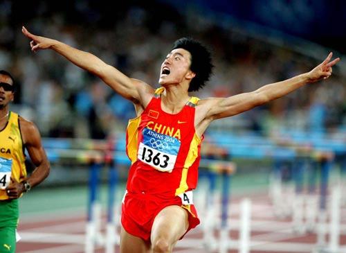 图文:奥运百图百事 刘翔跑出中国田径新时代