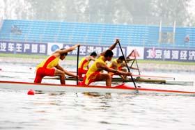 奥林匹克水上公园竣工试航
