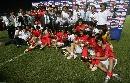 图文:[亚洲杯]韩国6-5日本 颁奖仪式上庆祝胜利