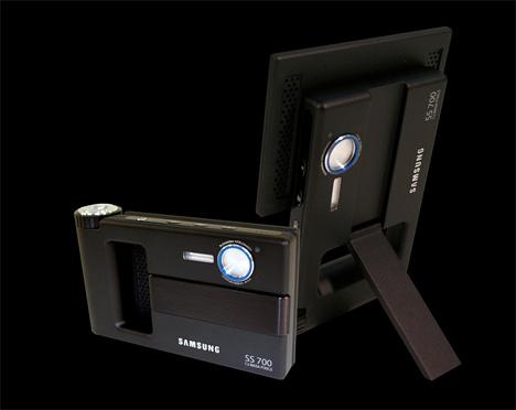 设计师的绝妙创意 相机与相框结合(图)