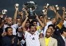 [亚洲杯]伊拉克欢庆捧杯 激情欢庆的伊拉克队员