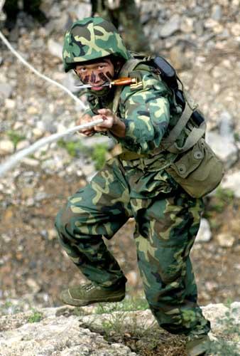 侦察兵是战争中的开路尖兵,需要有过人之处