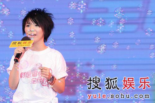 图:天娱旗下超女黄雅莉献唱《蝴蝶泉边》-2