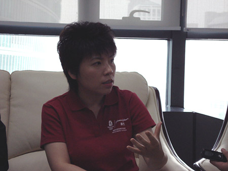 邓亚萍长期致力于公益事业