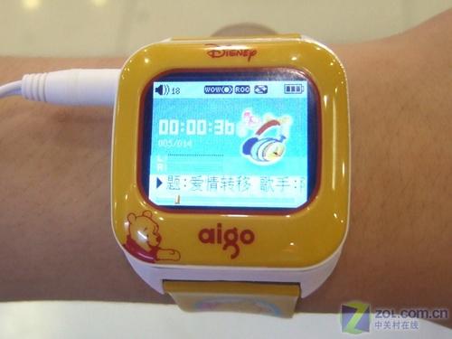 爱国者迪士尼维尼小熊新款手表MP3到货