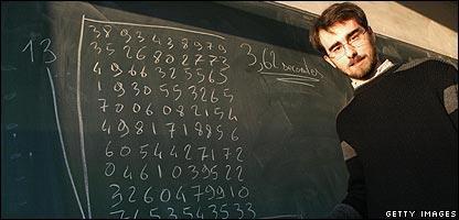 法国男子77.99秒心算出200位数13次方根(图)