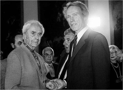 图:1995年安东尼奥尼和一死特伍德