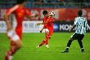 图文:[四国赛]国奥2-0博茨瓦纳 王晓龙长传