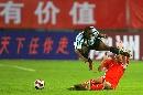 图文:[四国赛]国奥2-0博茨瓦纳 赵旭日险遭误伤