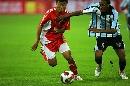 图文:[四国赛]国奥2-0博茨瓦纳 飞来黑手